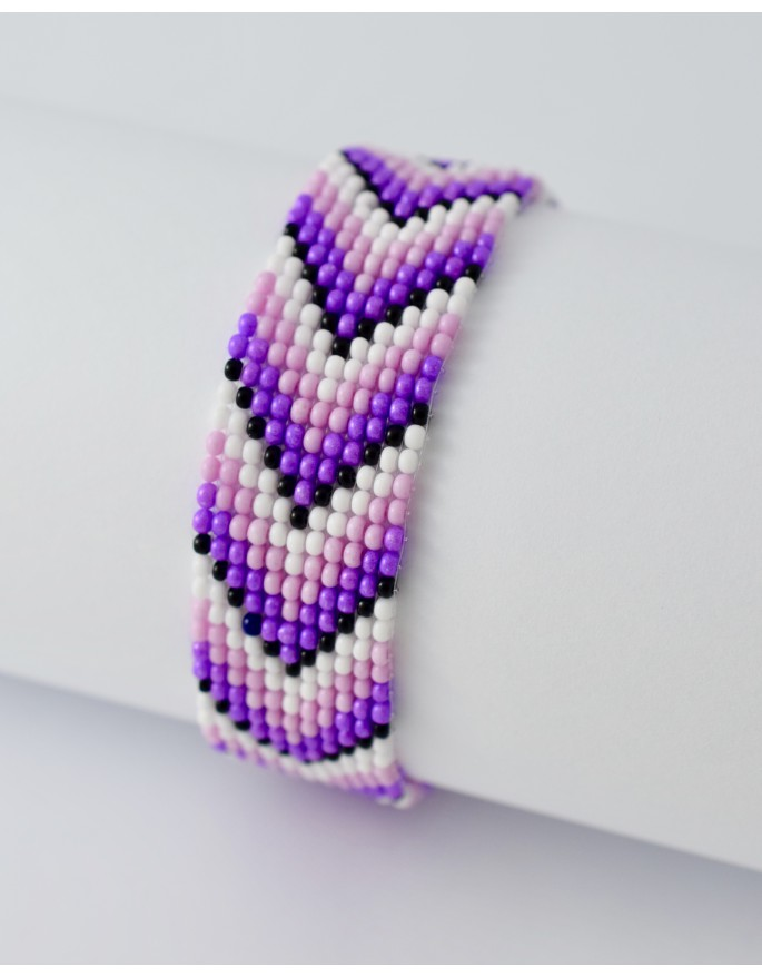bracelet- purple