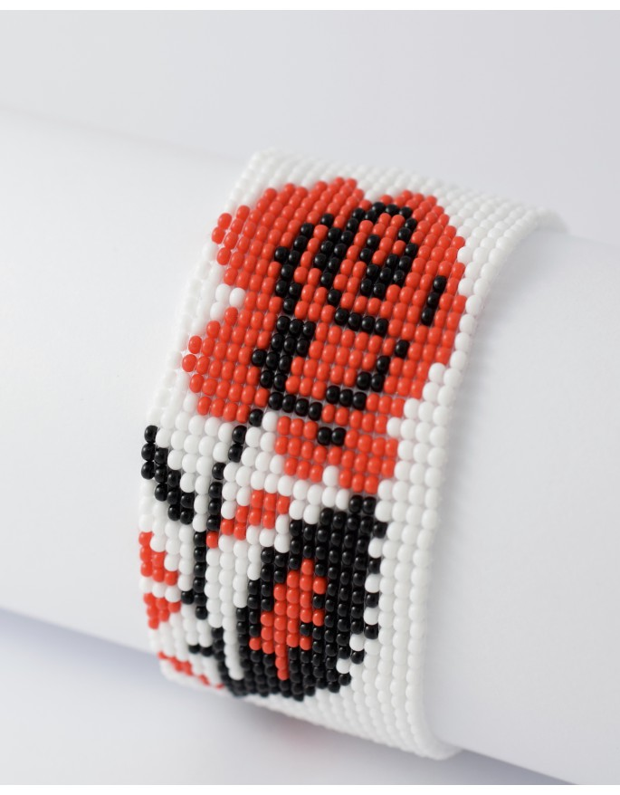 folk bracelet- ROSE