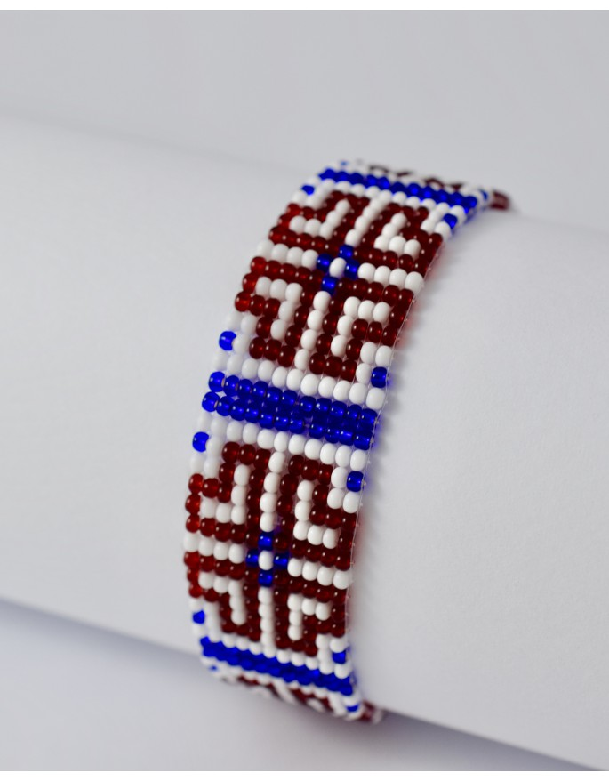 folk bracelet- heart